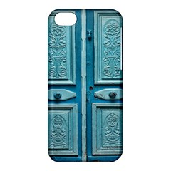 Turquoise Oriental Old Door Apple Iphone 5c Hardshell Case