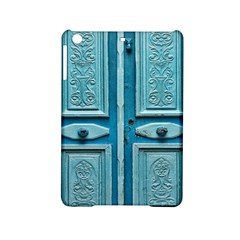 Turquoise Oriental Old Door iPad Mini 2 Hardshell Cases