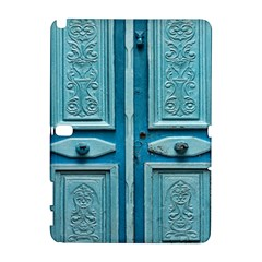 Turquoise Oriental Old Door Samsung Galaxy Note 10.1 (P600) Hardshell Case