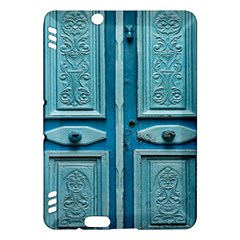 Turquoise Oriental Old Door Kindle Fire Hdx Hardshell Case
