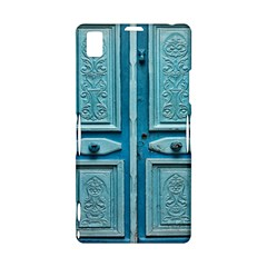 Turquoise Oriental Old Door Sony Xperia Z1