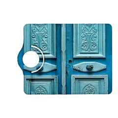 Turquoise Oriental Old Door Kindle Fire HD (2013) Flip 360 Case