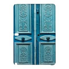 Turquoise Oriental Old Door Samsung Galaxy Tab Pro 10.1 Hardshell Case
