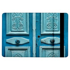 Turquoise Oriental Old Door iPad Air Flip