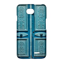 Turquoise Oriental Old Door LG Optimus L70