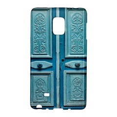 Turquoise Oriental Old Door Galaxy Note Edge