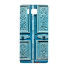 Turquoise Oriental Old Door Samsung Galaxy Alpha Hardshell Back Case
