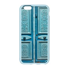 Turquoise Oriental Old Door Apple Seamless iPhone 6/6S Case (Color)