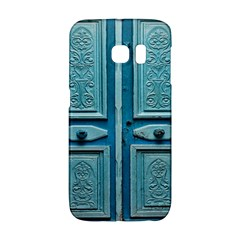Turquoise Oriental Old Door Galaxy S6 Edge
