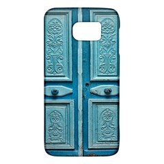 Turquoise Oriental Old Door Galaxy S6