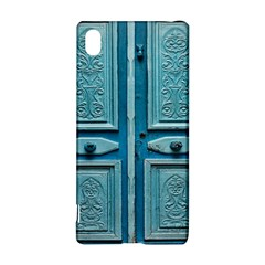 Turquoise Oriental Old Door Sony Xperia Z3+