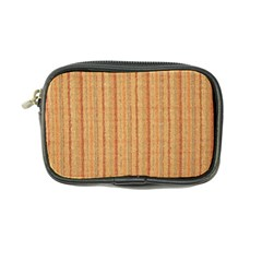 Elegant Striped linen texture Coin Purse