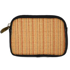 Elegant Striped linen texture Digital Camera Cases