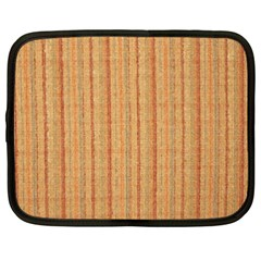 Elegant Striped Linen Texture Netbook Case (xxl)