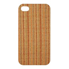 Elegant Striped linen texture Apple iPhone 4/4S Hardshell Case