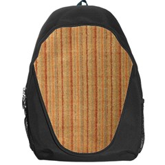 Elegant Striped Linen Texture Backpack Bag