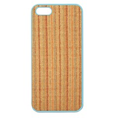 Elegant Striped Linen Texture Apple Seamless Iphone 5 Case (color)
