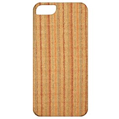 Elegant Striped linen texture Apple iPhone 5 Classic Hardshell Case
