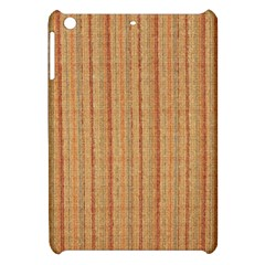 Elegant Striped linen texture Apple iPad Mini Hardshell Case