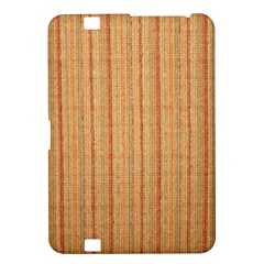 Elegant Striped linen texture Kindle Fire HD 8.9