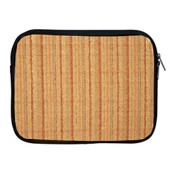 Elegant Striped linen texture Apple iPad 2/3/4 Zipper Cases