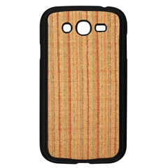 Elegant Striped Linen Texture Samsung Galaxy Grand Duos I9082 Case (black)