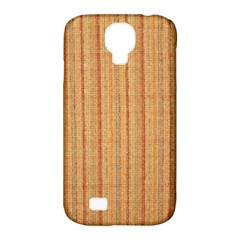 Elegant Striped linen texture Samsung Galaxy S4 Classic Hardshell Case (PC+Silicone)