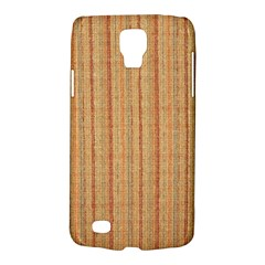 Elegant Striped linen texture Galaxy S4 Active