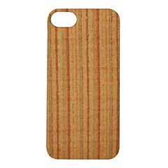 Elegant Striped linen texture Apple iPhone 5S/ SE Hardshell Case