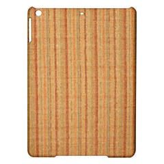 Elegant Striped Linen Texture Ipad Air Hardshell Cases