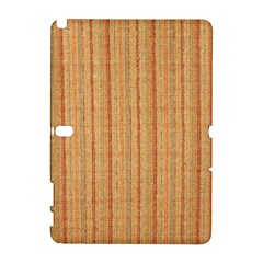 Elegant Striped Linen Texture Samsung Galaxy Note 10 1 (p600) Hardshell Case