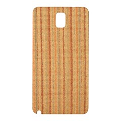 Elegant Striped Linen Texture Samsung Galaxy Note 3 N9005 Hardshell Back Case