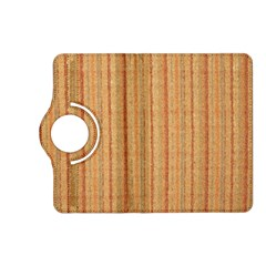 Elegant Striped linen texture Kindle Fire HD (2013) Flip 360 Case