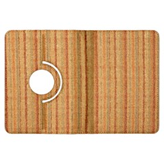 Elegant Striped linen texture Kindle Fire HDX Flip 360 Case