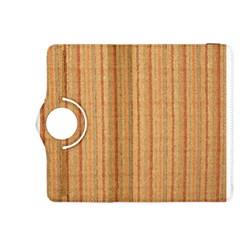 Elegant Striped Linen Texture Kindle Fire Hdx 8 9  Flip 360 Case