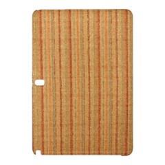 Elegant Striped linen texture Samsung Galaxy Tab Pro 10.1 Hardshell Case
