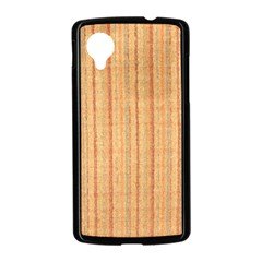 Elegant Striped linen texture Nexus 5 Case (Black)