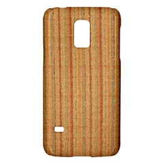 Elegant Striped linen texture Galaxy S5 Mini