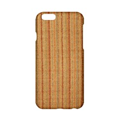 Elegant Striped Linen Texture Apple Iphone 6/6s Hardshell Case