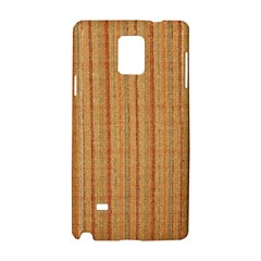 Elegant Striped linen texture Samsung Galaxy Note 4 Hardshell Case