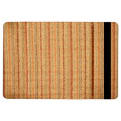 Elegant Striped linen texture iPad Air 2 Flip