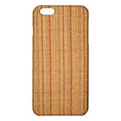 Elegant Striped linen texture iPhone 6 Plus/6S Plus TPU Case