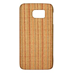 Elegant Striped Linen Texture Galaxy S6