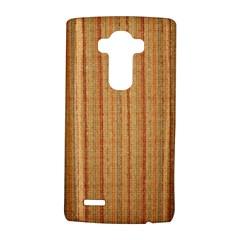 Elegant Striped Linen Texture Lg G4 Hardshell Case