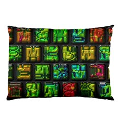 Colorful Buttons               			pillow Case