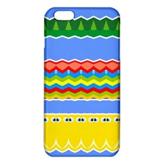 Colorful chevrons and waves                 			iPhone 6 Plus/6S Plus TPU Case