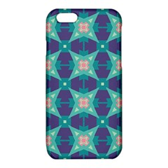 Blue stars pattern                  			iPhone 6/6S TPU Case