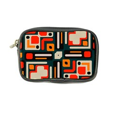 Shapes In Retro Colors Texture                   coin Purse