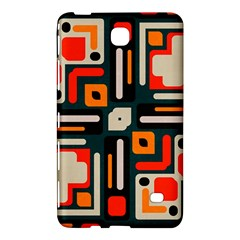 Shapes In Retro Colors Texture                   samsung Galaxy Tab 4 (8 ) Hardshell Case