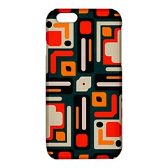 Shapes in retro colors texture                   			iPhone 6/6S TPU Case